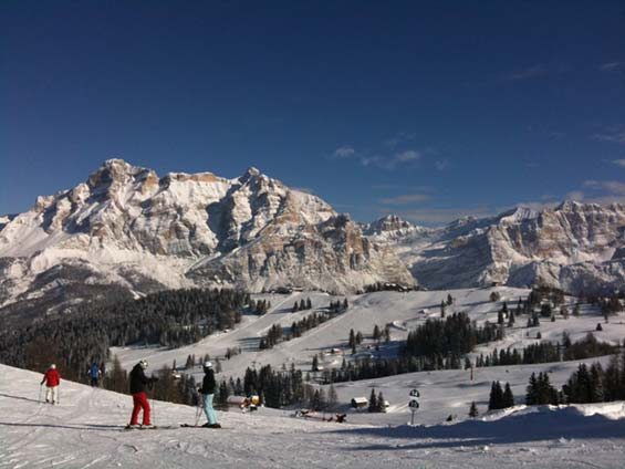 Alta Badia from Corvara