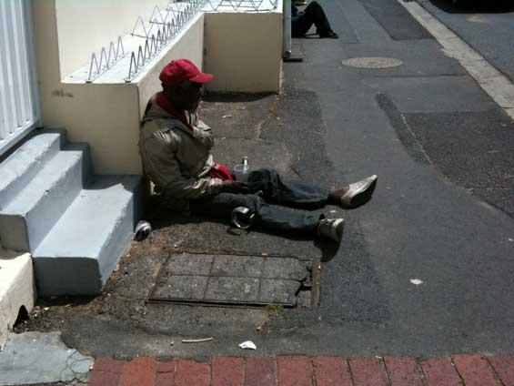 Street Beggars, Cape Town