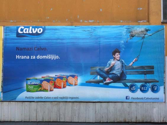 Calvo Tuna Facebook Poster