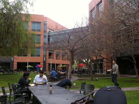 Googleplex park and restaurant