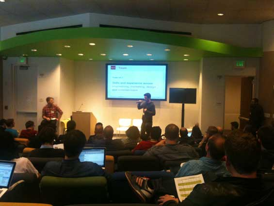 Seedcamp presentations Oust.me