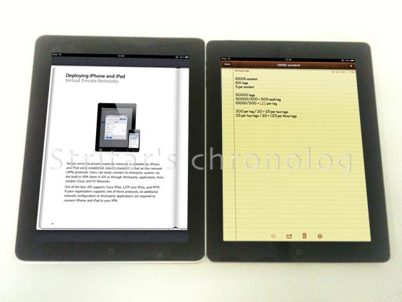 Merging Two iPads Books and Notes