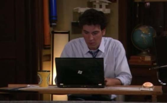 Microsoft Product Placement: How I Met Your Mother
