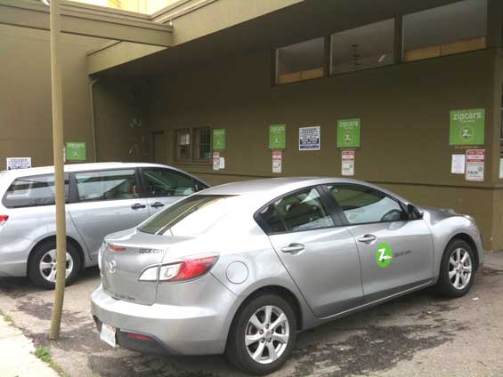 New Business Models Zipcar Rent-a-car