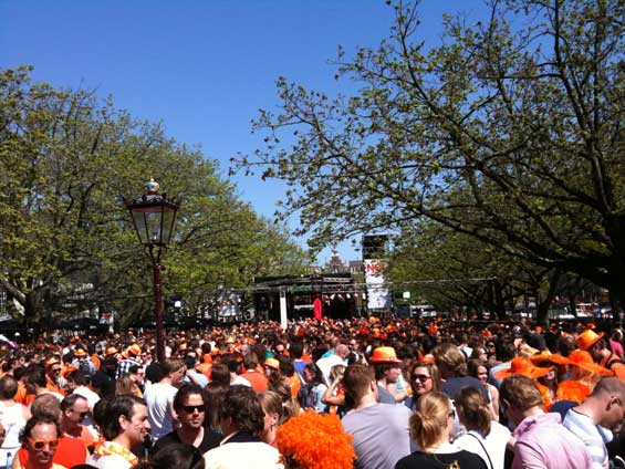 Queensday Amsterdam Stage Square
