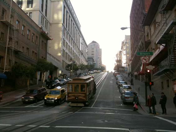 San Francisco Streets Cable Car