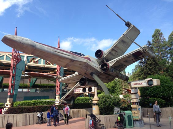 Star Wars - X-wind in Eurodisney