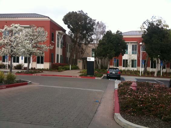 Visiting Facebook, Menlo Park