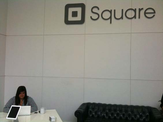 Visiting Square headquarters, San Francisco