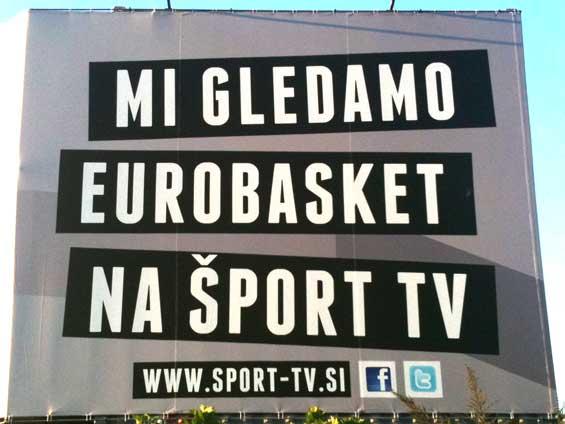 Šport TV Twitter Facebook Eurobasket